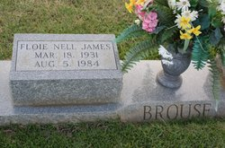 Floie Nell <i>James</i> Brouse