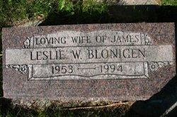 Leslie W. <i>Pollack</i> Blonigen