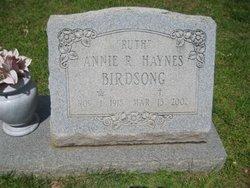 Annie R <i>Haynes</i> Birdsong