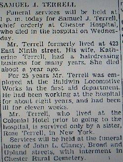 Samuel J Terrell