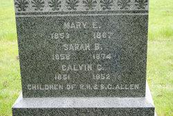 Mary Elizabeth Allen