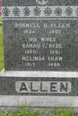 Sarah C <i>Hyde</i> Allen