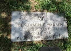 Benjamin E Warren
