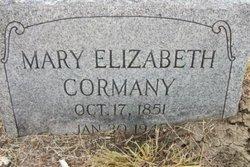 Mary Ann Elizabeth <i>Mills</i> Cormany