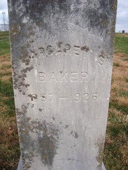 Margaret S <i>Robinson</i> Baker