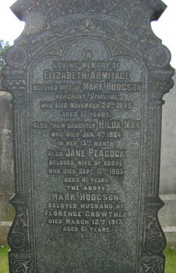 Elizabeth Armitage <i>Armitage</i> Hodgson