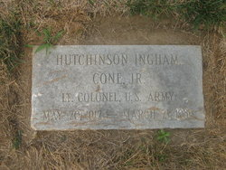 LTC Hutchinson Ingham Cone, Jr
