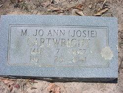Margaret Josephine Josie <i>Hendon</i> Cartwright