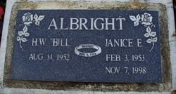 Janice E Albright