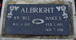 H.W. Bill Albright
