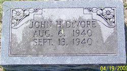 John H DeVore