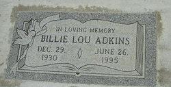 Billie Lou <i>Nolan</i> Adkins