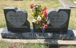 Letha F. Hicks
