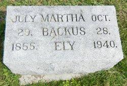 Martha Backus Ely