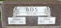 Jennie <i>Van Dyken</i> Bos