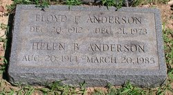 Helen <i>Bunting</i> Anderson