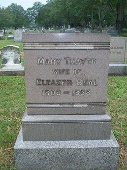 Mary <i>Thayer</i> Beal