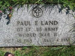 Paul E Land