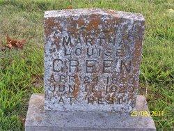 Martha Louise Green