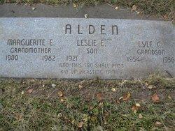 Lyle C Alden