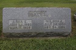 Anna E. <i>Morse</i> Hayes