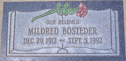Mildred Civilla <i>Webb</i> Bosteder