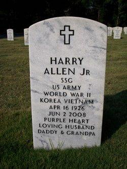 Sgt Harry Allen