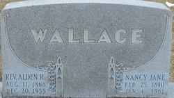 Rev Alden R. Wallace