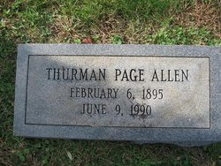 Thurman Page Allen