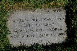 Alberta Viola Carlson