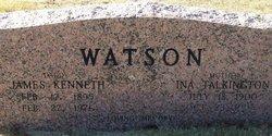 Ina <i>Talkington</i> Watson