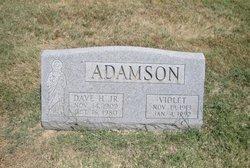 Violet Amelia <i>Chadderton</i> Adamson