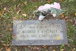 Mildred E Ashcroft