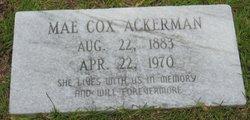 Frances Mae <i>Cox</i> Ackerman