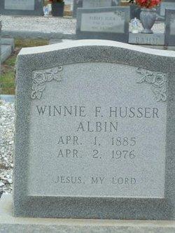 Winnie F <i>Husser</i> Albin