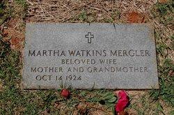 Martha Elise <i>Watkins</i> Mergler