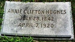 Annie Clifton <i>Peete</i> Hughes