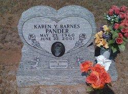 Karen Y. <i>Barnes</i> Pander