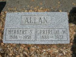 Gertrude L. <i>Wetmore</i> Allan