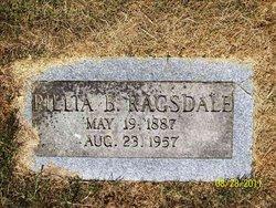 Rillia Belle <i>Ellison</i> Ragsdale