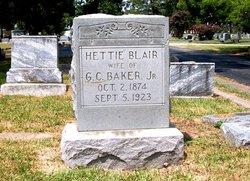 Hettie <i>Blair</i> Baker
