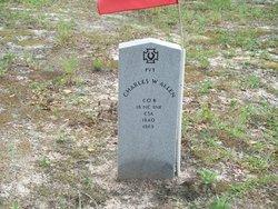 Pvt Charles W Allen
