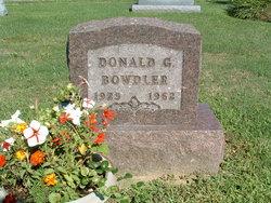 Donald G Bowdler