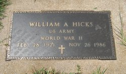 William A. Hicks
