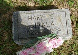 Mary E Birkla