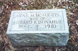 Anna M <i>McAuliffe</i> Donahue