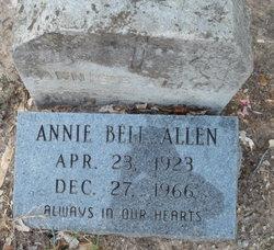 Annie Bell <i>Scurlock</i> Allen