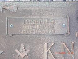 Joseph Brown Washington Joe Knight