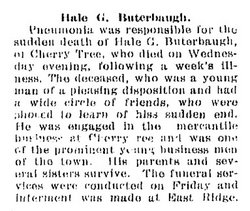 George Hale Buterbaugh