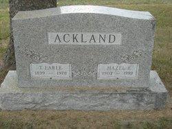 Thomas Earle Earle Ackland